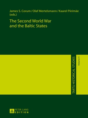 cover image of The Second World War and the Baltic States